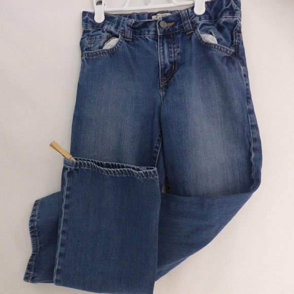 CHILDREN'S PLACE bootcut blue jeans size 10, boys